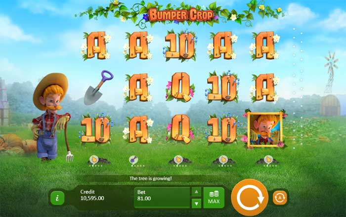 bumper crop slot review