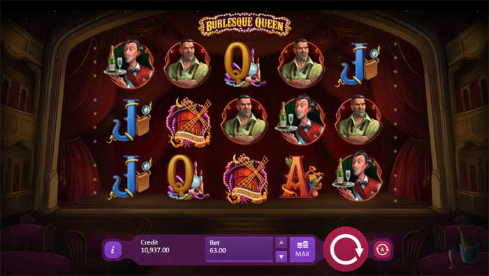burlesque queen slot review
