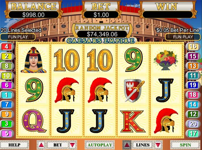 ceasars empire slot review