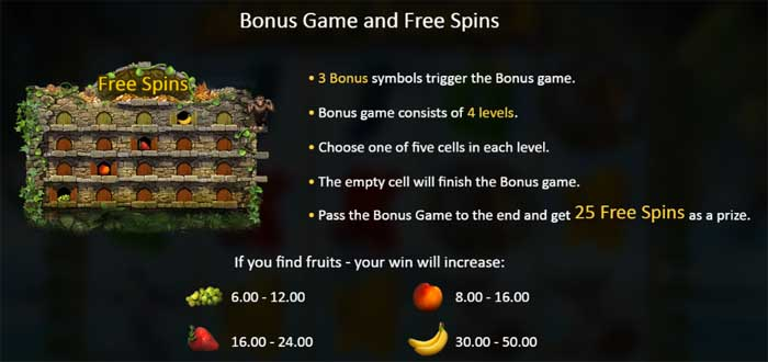 happy jungle bonus games and free spins
