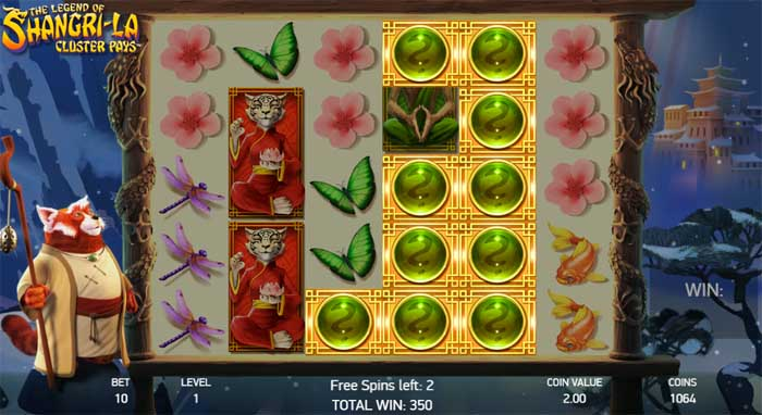 legend of shangri-la free spins