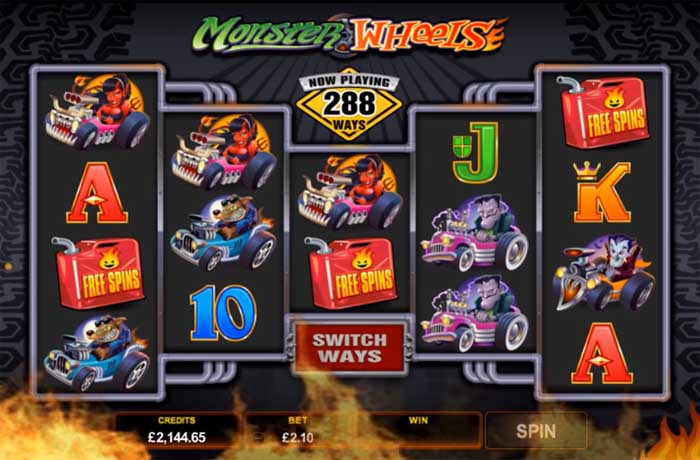 monster wheels bonus