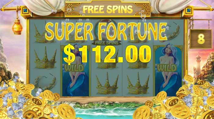 ocean fortune slot big win