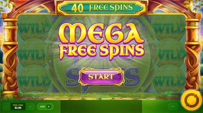 rainbow jackpots mega free spins