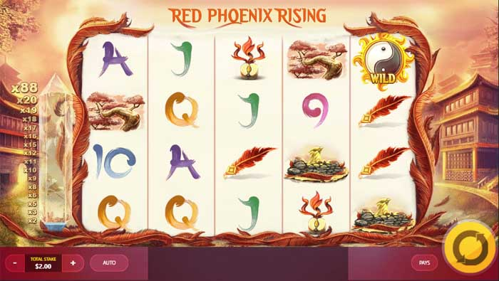 red phoenix rising slot review