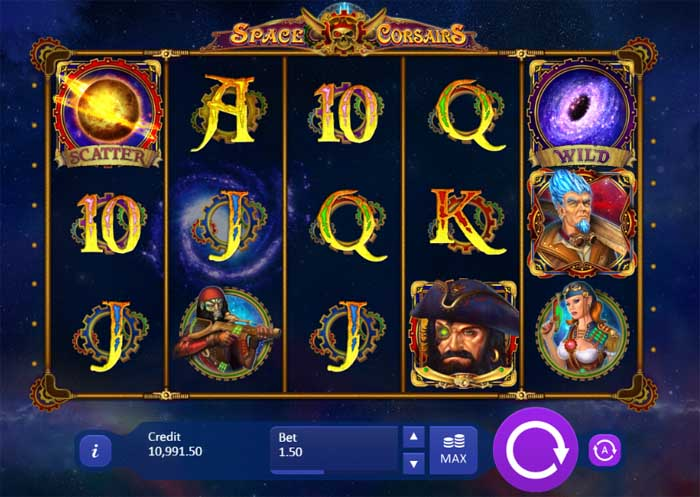 space corsairs slot review