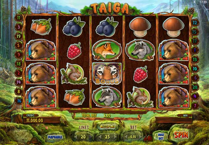 taiga slot review