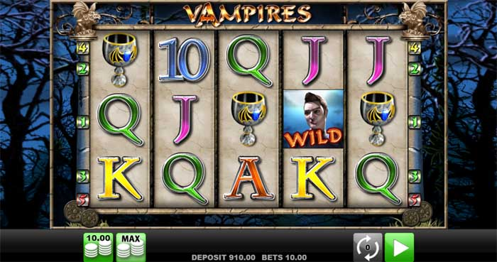 vampires slot review