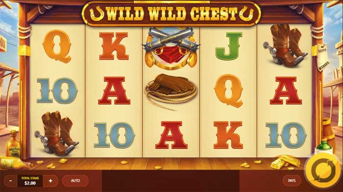 wid wild chest slot review