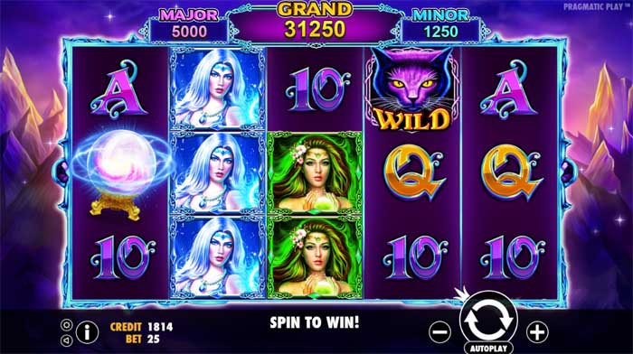 wild spells slot review