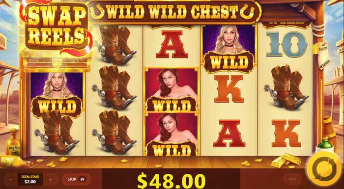 wild wild chest slot by red tiger gaming