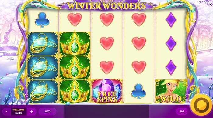winter wonders slot review