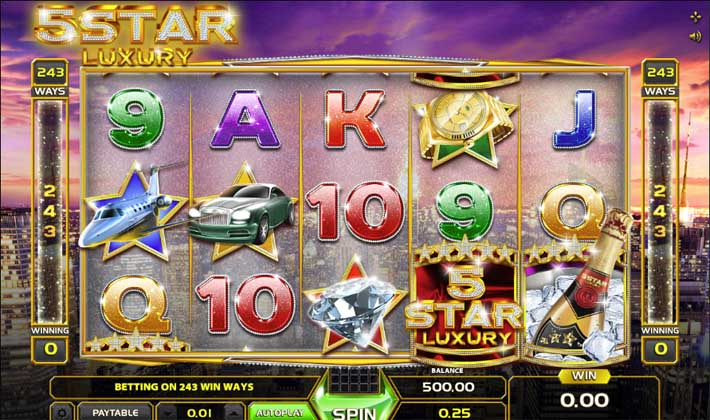 5 star luxury slot review