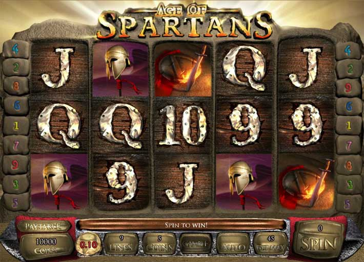 age of spartans slot review