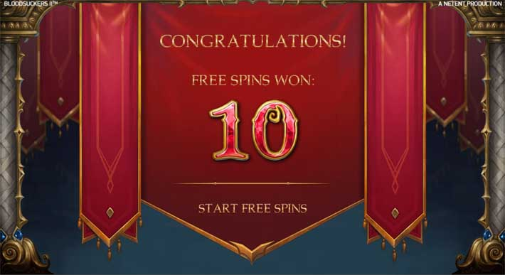 blood suckers 2 freespins
