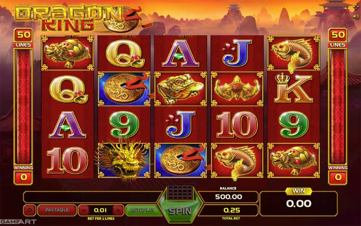 dragon king slot review
