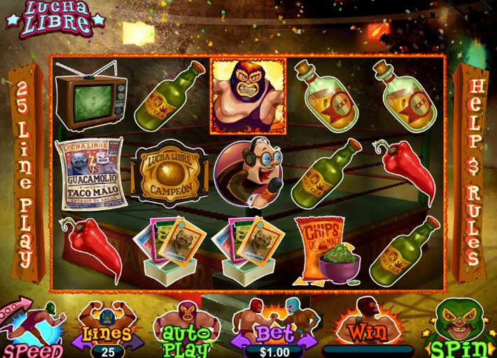 lucha libre slot review
