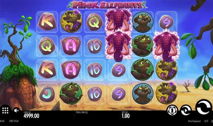 pink elephants slot review