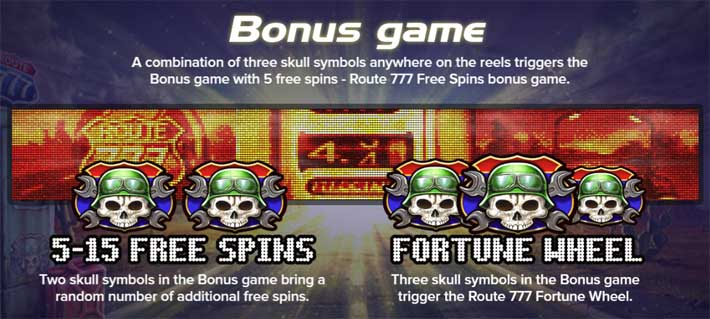 route 777 slot bonus games