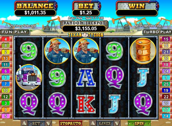 texan tycoon slot review