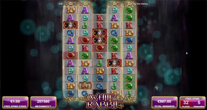 white rabbit slot strategy