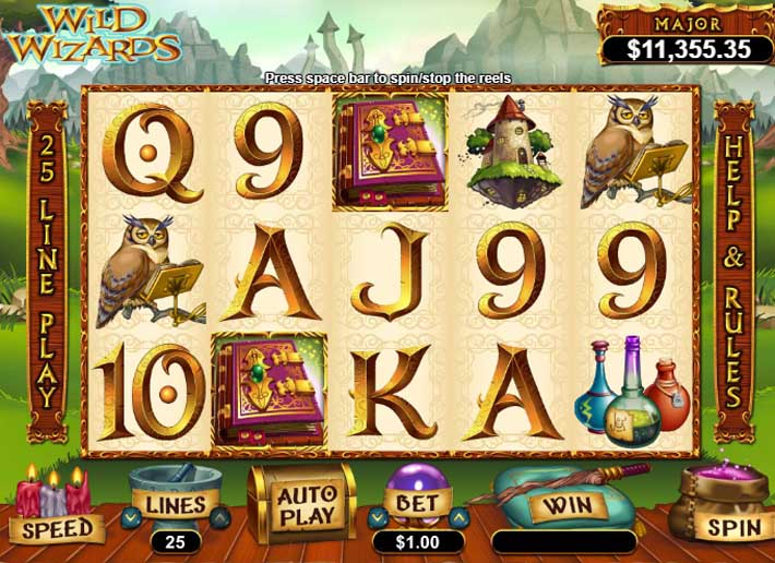 wild wizards rtg slot review